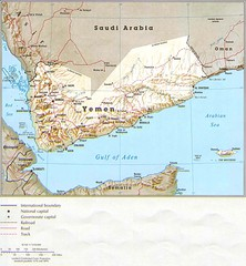 Yemen Country Map