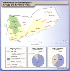 Yemen Enthoreligious Distribution Map
