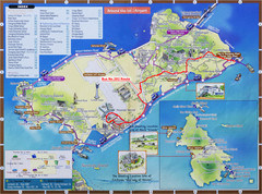 Yeongjong Island Tourist Map
