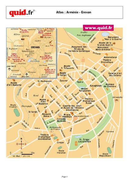 Map Yerevan