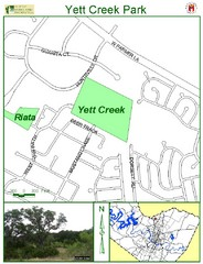 Yett Creek Park Map