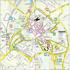 York England Tourist Map