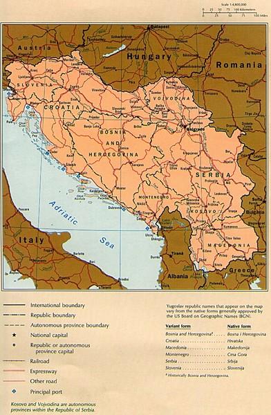Yugoslavia Map • mappery on russia map, lebanon map, slovenia map, great britain map, iraq map, bosnian map, armenia map, bosnia and herzegovina, yugoslav wars, turkey map, bosnia map, breakup of yugoslavia, alps map, republic of macedonia, josip broz tito, hungary map, vatican city map, solomon islands map, europe map, ethnic map, darfur map, balkans map, brazil map, kosovo war, italy map, germany map, soviet union, bosnian war,