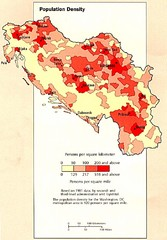 Yugoslavian Population Map