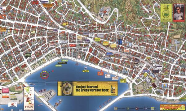 Zakynthos Town Map Zakynthos Town Zakynthos Greece Mappery
