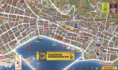 Tsilivi Tourist Map Tsilivi Zakynthos Greece mappery