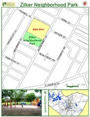 Zilker Neighborhood Park Map