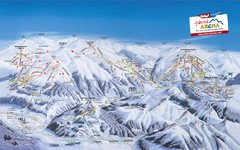 Zillertal Arena Ski Trail Map