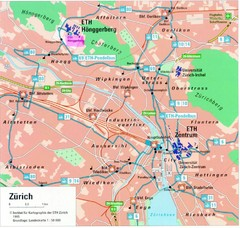 Zurich City Map