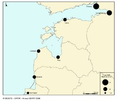 baltic ports in 2008 Map