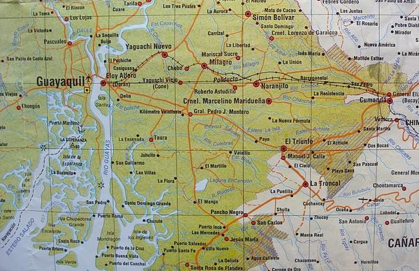 Cerca de guayaquil map guayaquil ecuador mappery fullsize cerca de guayaquil map gumiabroncs Images