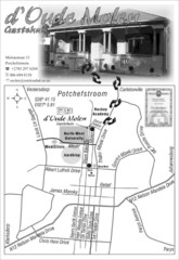 d` Oude Molen Guest House Map