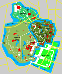 imperial Palace Tokyo Map